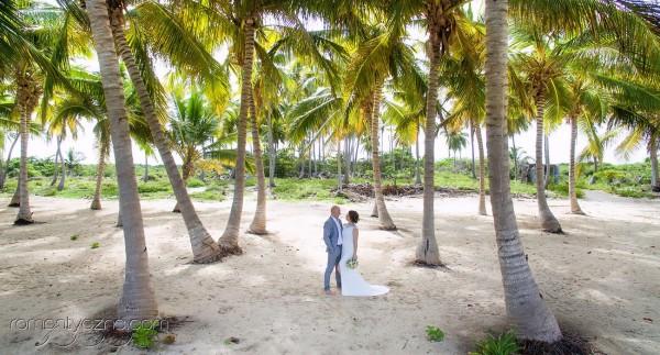 Plaża na wyspie Saona, ceremonie zaślubin, sesje fotograficzne