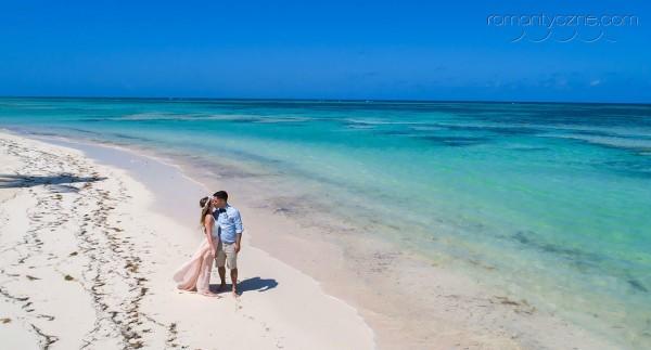 Śluby w Dominikanie, spacer po plaży