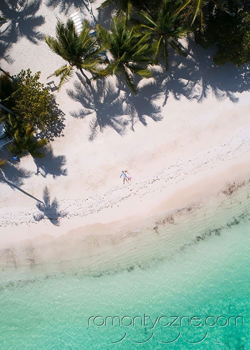 Wyspa Saona, prywatna plaża dla Pary Młodej