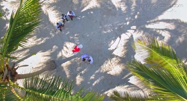 Widok z drona, plaża