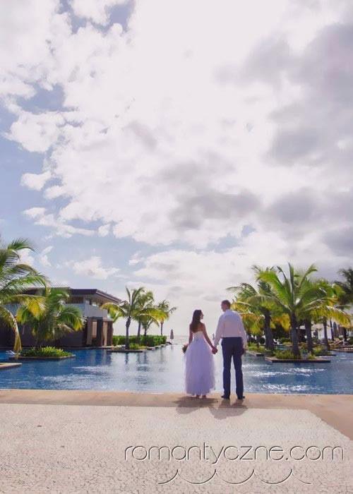 Zaręczyny na dominikańskiej plaży, tropikalne śluby