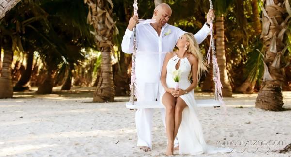 Nieszablonowy ślub na rajskiej plaży, Karaiby