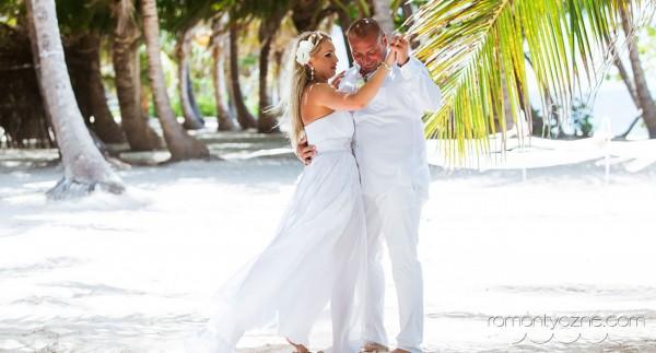 Śluby symboliczne na rajskiej plaży, organizacja ceremonii