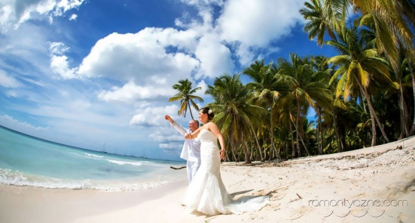 Zaręczyny Saona Island, Dominikana, podróże poślubne na Karaibach