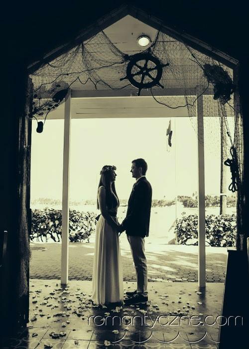 Śluby symboliczne na dominikańskiej plaży, podróże poślubne na Karaibach