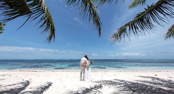 Nieszablonowy ślub Saona Island, Dominikana, romantyczne ceremonie