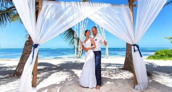 Śluby oficjalne Saona Island, Dominikana, zagraniczne podróże poślubne