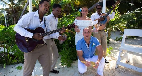Zaręczyny Saona Island, Dominikana, Karaiby