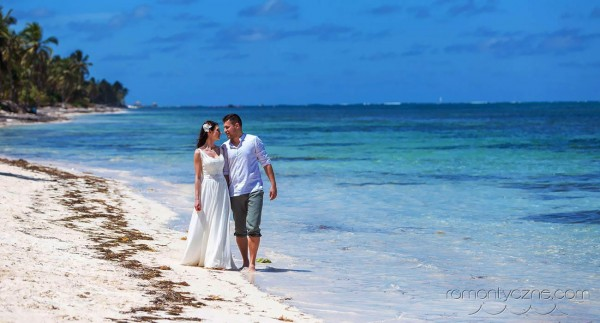 Śluby na prywatnej plaży, podróże poślubne na Karaibach