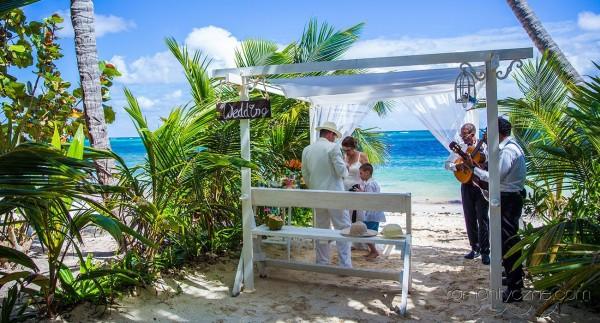 Śluby oficjalne Saona Island, Dominikana, podróże poślubne na Karaibach