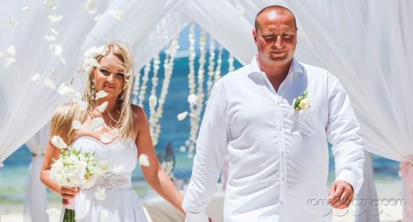 Śluby Dominikana, Mauritius, tropikalne śluby
