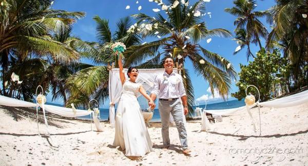 Śluby symboliczne na dominikańskiej plaży, organizacja ceremonii