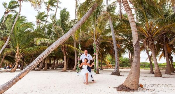 Śluby symboliczne Saona Island, Dominikana, romantyczne ceremonie