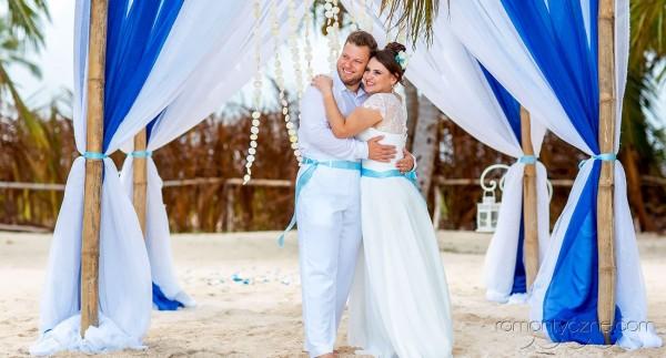 Śluby symboliczne na rajskiej plaży, romantyczne ceremonie