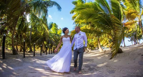 Zaręczyny na dominikańskiej plaży, Karaiby