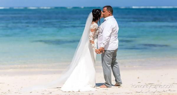 Ceremonie ślubne na rajskiej plaży