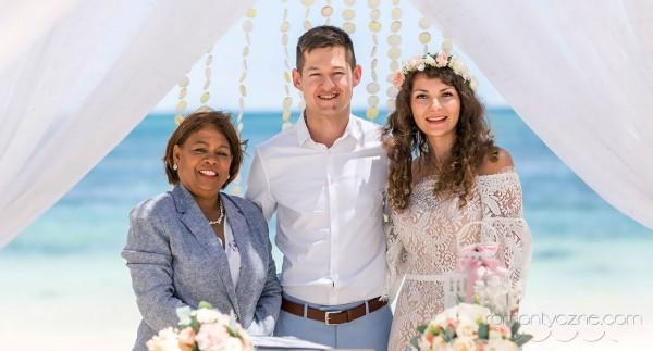 Ślub w Dominikanie, po przysiędze
