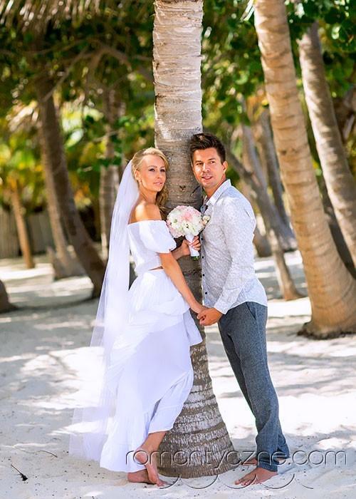 Organizacja ślubu w raju, plaża tylko dla Pary Młodej