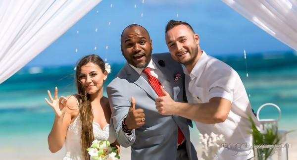 Ceremonia ślubna na prywatnej plaży