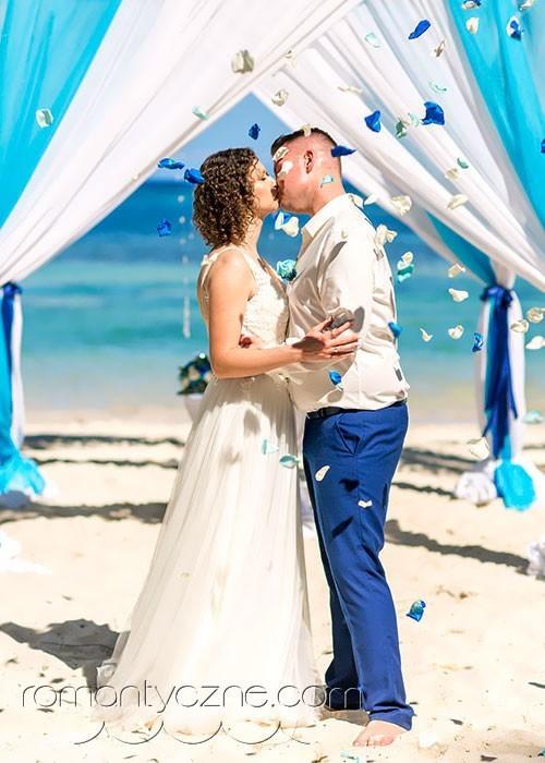 Karaibski ślub na prywatnej plaży