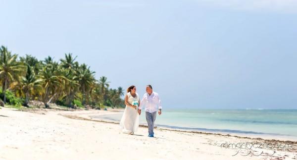 Niezapomniane chwile na dominikańskiej plaży