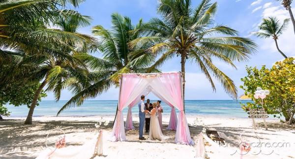 Saona Island, ślub wśród palm