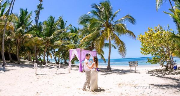 Słoneczna Dominikana, ślub wśród palm