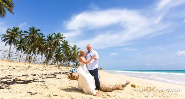 Śluby na wyspie Saona