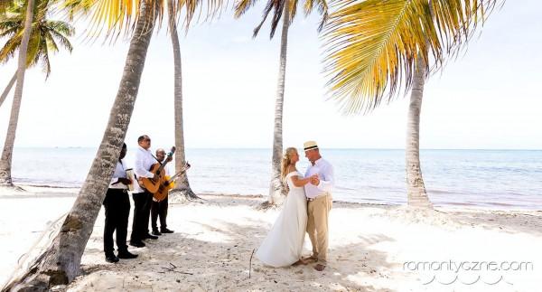 Ceremonie ślubne na dominikańskiej plaży