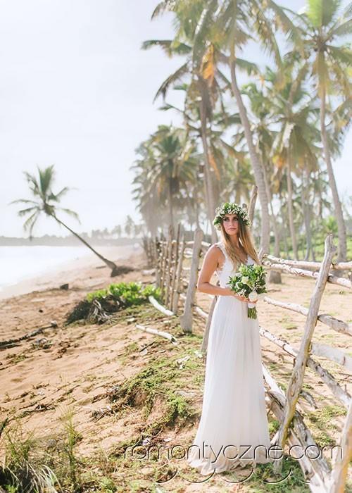 Oficjalne i symboliczne śluby na plaży