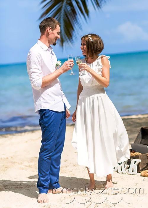 Wyspa Saona, tropikalne śluby na plaży