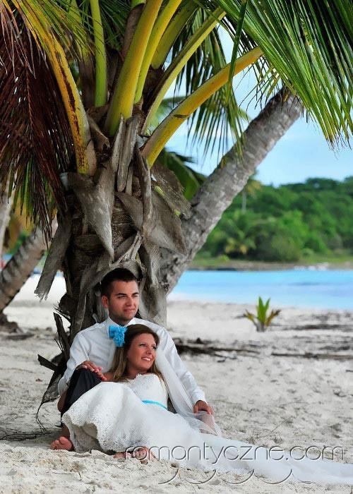Śluby symboliczne na rajskiej plaży