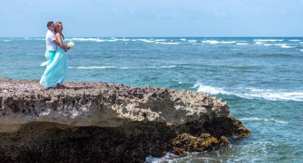 Nieszablonowy ślub na dominikańskiej plaży, podróże poślubne na Karaibach