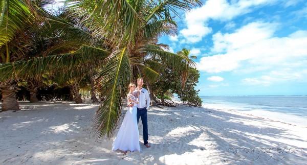 Nieszablonowy ślub Saona Island, Dominikana, zagraniczne podróże poślubne