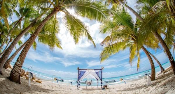 Nieszablonowy ślub na rajskiej plaży, organizacja ceremonii