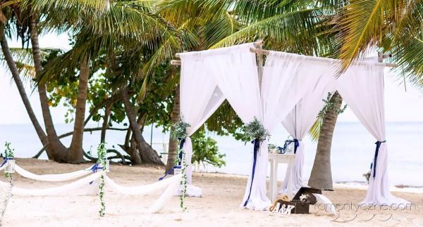 Unikalny ślub na prywatnej plaży