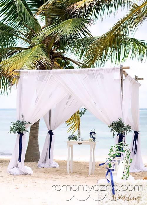 Ślub na plaży, Dominikana
