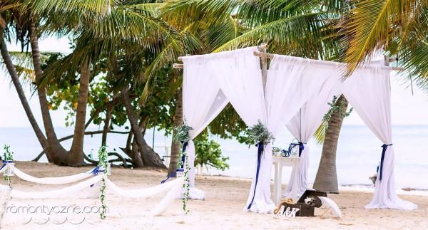 Rajski ślub na piaszczystej plaży, Dominikana