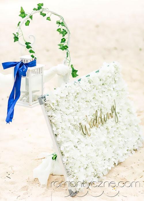 Ozdoby do ślubu na plaży, Saona Island