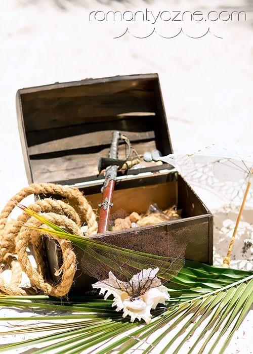 Ozdoby do ślubu na plaży