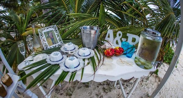 Śluby symboliczne na prywatnej plaży, romantyczne ceremonie