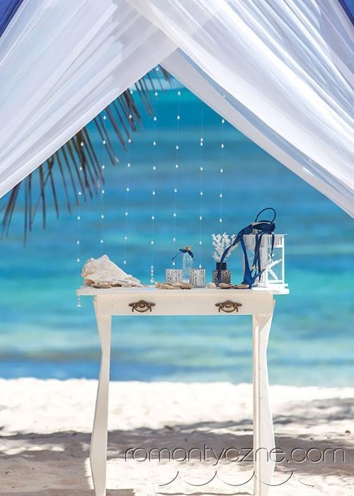 Śluby symboliczne na dominikańskiej plaży, organizacja ślubu
