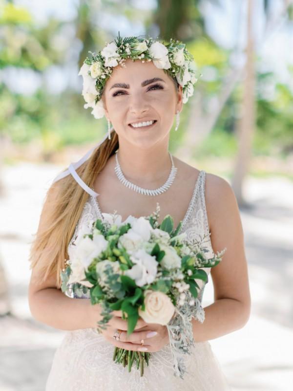 Śluby za granicą na tropikalnej plaży, tropikalne śluby