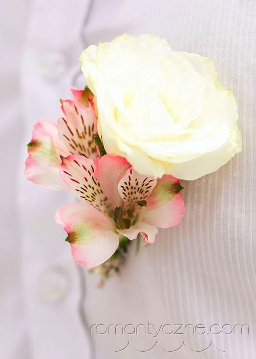 Ozdoby kwiatowe, butonierka