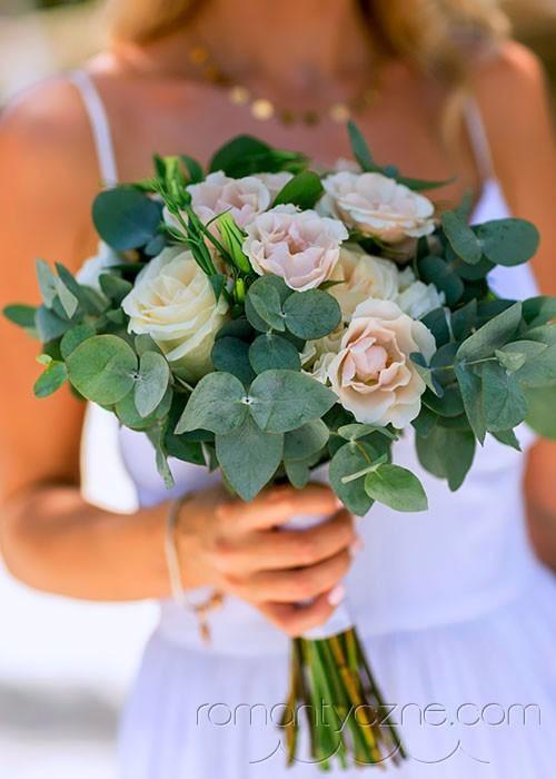 Kwiaty na ślubie, Karaiby