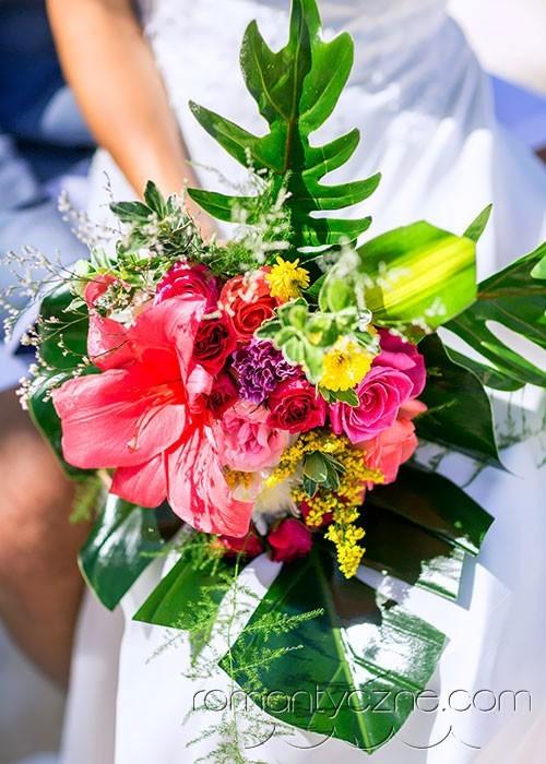 Indywidualny bukiet ślubny