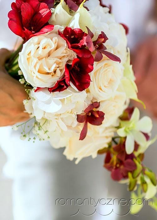 Indywidualny bukiet ślubny, Dominikana
