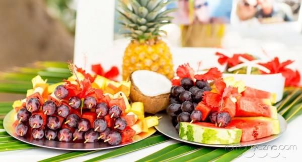 Zaręczyny kolacja dla dwojga, tropikalne śluby