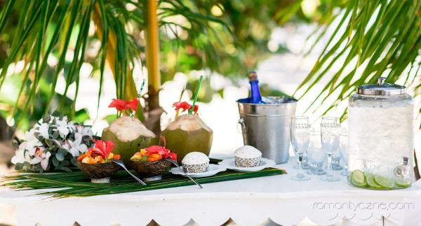 Ceremonie ślubne Saona Island, Dominikana, tropikalne śluby