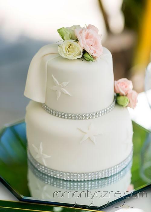 Wyjątkowy tort ślubny, tropikalne śluby